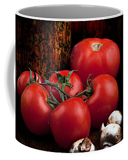 Coffee Mug featuring the photograph Group Of Vegetables by Gunter Nezhoda