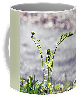 Coffee Mug featuring the photograph Growing  by Kerri Farley