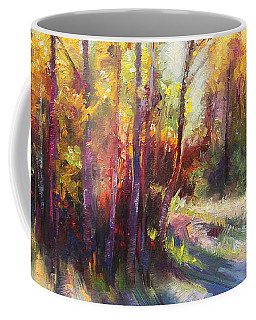 Coffee Mug featuring the painting Growth by Talya Johnson