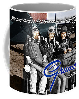 Grumman Test Pilots Coffee Mug