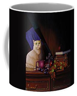 Grumpy Cat Coffee Mug by Gene Gregory