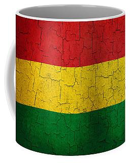 Grunge Bolivia Flag Coffee Mug