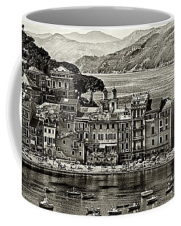 Grunge Seascape Coffee Mug
