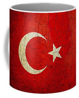 Grunge Turkey Flag Coffee Mug