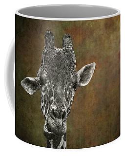 Grungy Giraffe 5654 Brown Coffee Mug