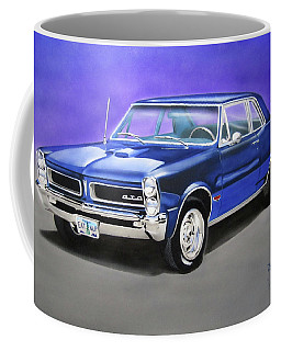 Coffee Mug featuring the painting Gto 1965 by Thomas J Herring