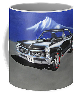 Coffee Mug featuring the painting Gto 1967 by Thomas J Herring