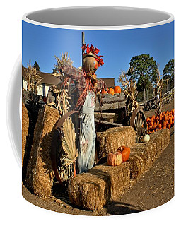 Guarding The Pumpkin Patch Coffee Mug