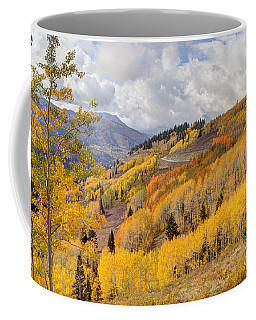 Guardsman Pass Aspen - Big Cottonwood Canyon - Utah Coffee Mug