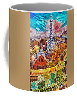 Guell Park Coffee Mug by Mo T