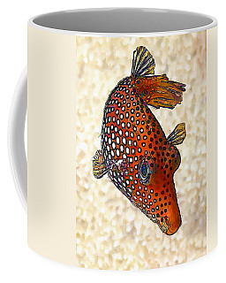 Guinea Fowl Puffer Fish Coffee Mug
