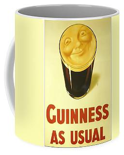 Guinness As Usual Coffee Mug