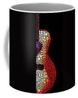 Guitar Art - She Waits Coffee Mug