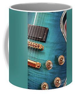 Coffee Mug featuring the photograph Guitar Blues by Joy Watson