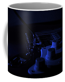 Guitar Blues Coffee Mug by Linda Bianic