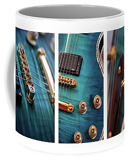 Coffee Mug featuring the photograph Guitar Life by Joy Watson