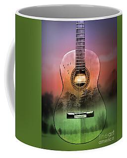 Guitar Nature  Coffee Mug