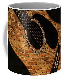 Guitar Shadow Coffee Mug