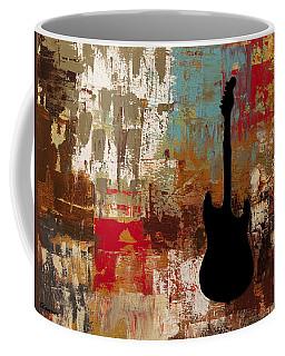 Guitar Solo Coffee Mug by Carmen Guedez