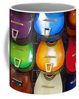 Coffee Mug featuring the photograph Guitaras San Antonio  by Rick Locke