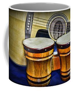 Guitars Bongos And Beatniks Coffee Mug