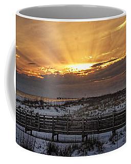 Gulf Shores From Pavilion Coffee Mug