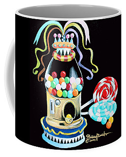 Gumball Machine And The Lollipops Coffee Mug