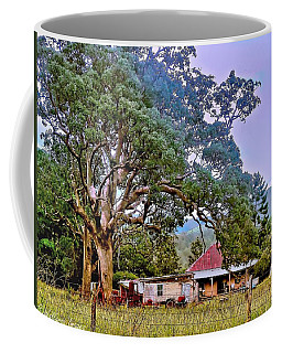 Coffee Mug featuring the photograph Gumtree Gully by Wallaroo Images