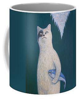 Gunter And His Pet Fish Klaus Coffee Mug