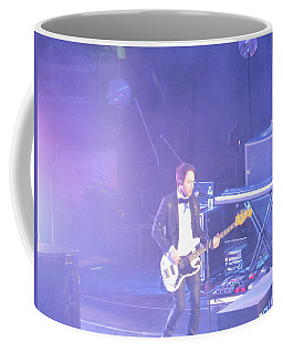 Coffee Mug featuring the photograph Gutair Player For Royal Taylor by Aaron Martens