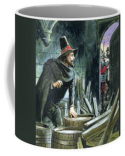 Guy Fawkes, From Peeps Into The Past Coffee Mug