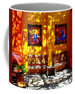 Hacienda Benches Coffee Mug