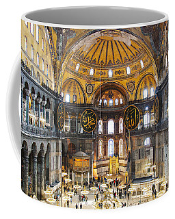 Hagia Sofia Interior 35 Coffee Mug