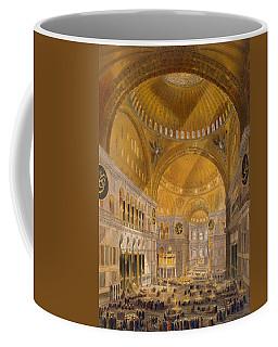 Hagia Sophia, Constantinople, 1852 Coffee Mug
