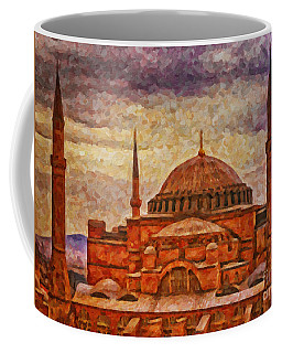 Hagia Sophia Digital Painting Coffee Mug
