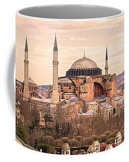 Hagia Sophia Mosque - Istanbul Coffee Mug by Luciano Mortula