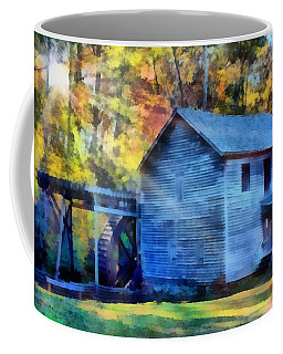 Hagood Mill With Sunrays Coffee Mug
