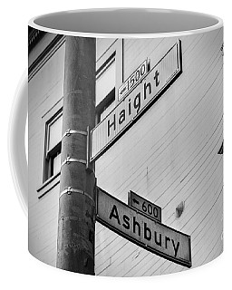 Haight And Ashbury Coffee Mug