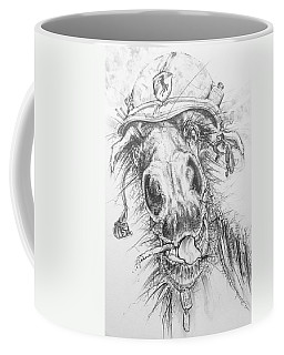 Hair-ied Horse Soilder Coffee Mug by Scott and Dixie Wiley