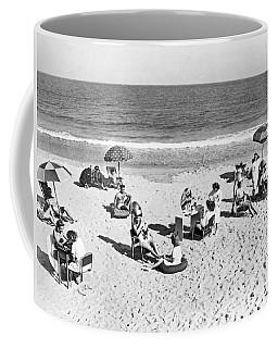 Hair Salon On The Beach Coffee Mug