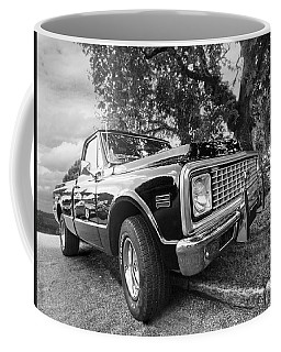 Halcyon Days - 1971 Chevy Pickup Bw Coffee Mug