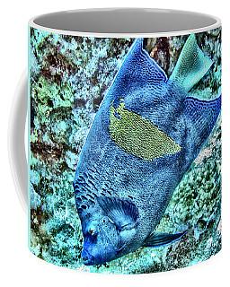 Half Moon Angel Fish Coffee Mug