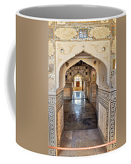 Hall Of Mirrors - Amber Fort - Jaipur India Coffee Mug