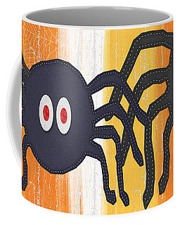 Halloween Spiders Sign Coffee Mug