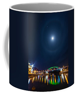 Halo Above The Bridge Coffee Mug