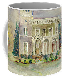 Coffee Mug featuring the painting Hamden House by Lynn Buettner