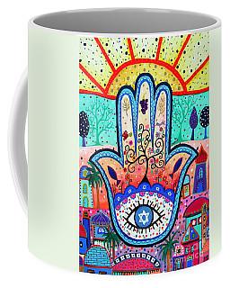 Hamesh Evil Eye Coffee Mug