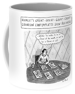 Hamlet's Great-great-great-great Grandson Coffee Mug