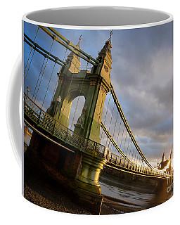 Hammersmith Bridge In London Coffee Mug