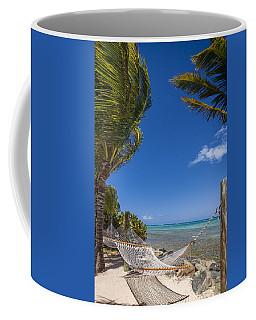 Hammock On The Beach British Virgin Islands Coffee Mug